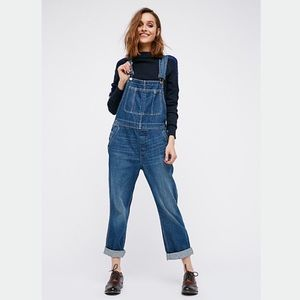 Free People the boyfriend overall
